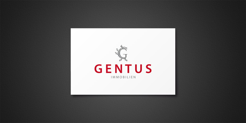corporate design gentus immobilien