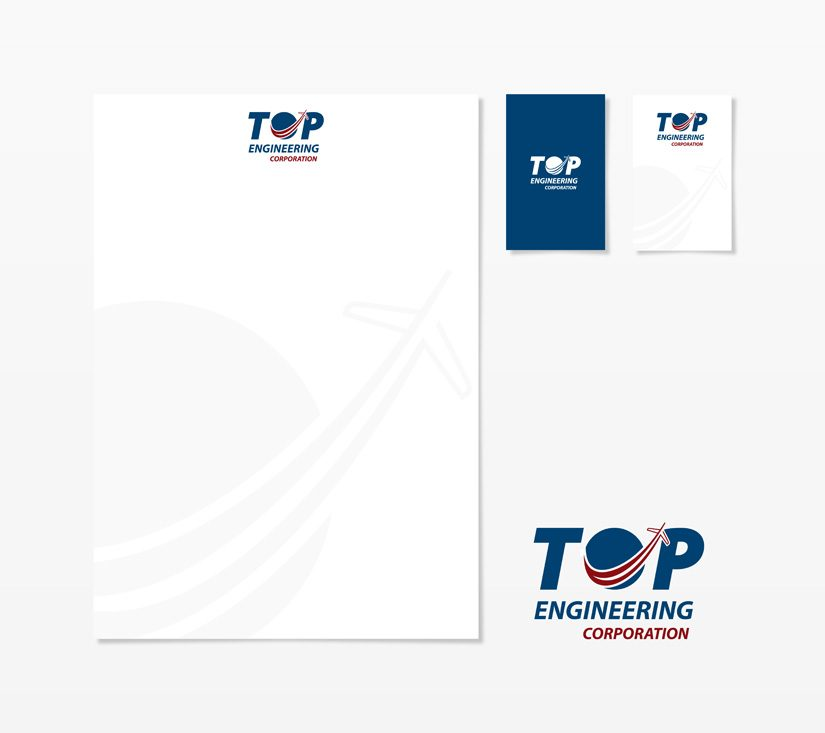 logo redesign top egineering corporation
