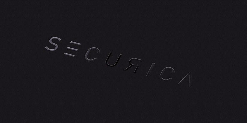 logo securica partielle lackierung