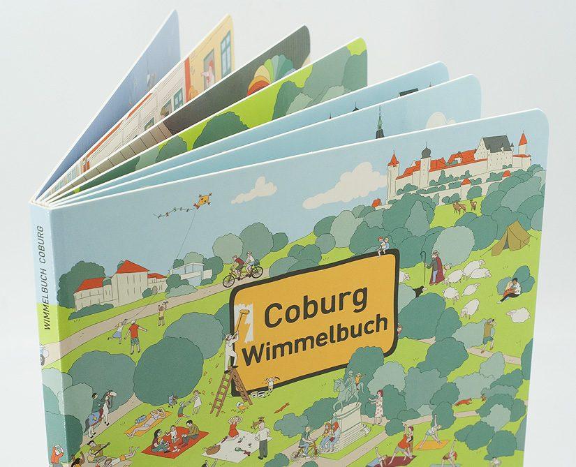 WIMMELBUCH COBURG AB JETZT IM HANDEL