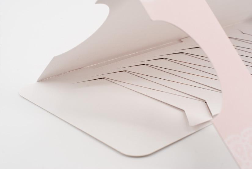 Mechanik einer schiebekarte, lamellenkarte