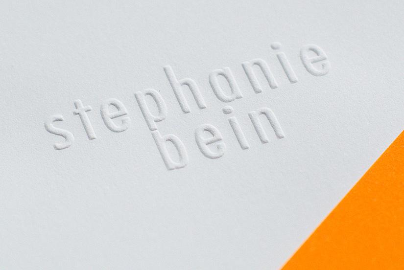 briefbogen briefpapier logo geprägt prägung