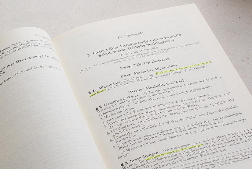 urheberrechtsgesetz urheberrecht